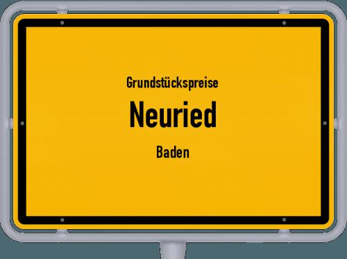 Grundstückspreise Neuried (Baden) 2018