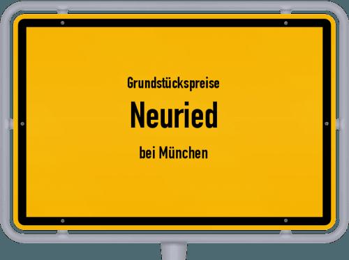 Grundstückspreise Neuried (bei München) 2021