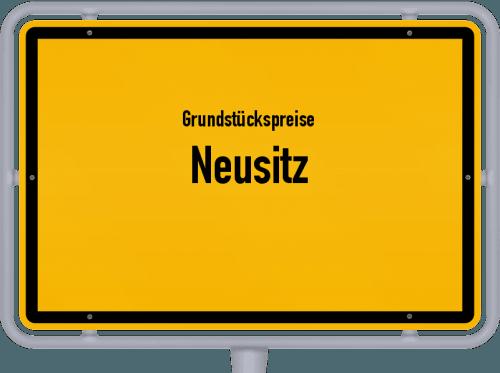 Grundstückspreise Neusitz 2019