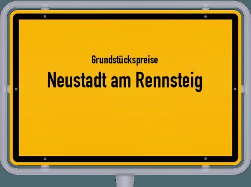 Grundstückspreise Neustadt am Rennsteig 2019