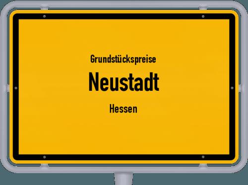 Grundstückspreise Neustadt (Hessen) 2019