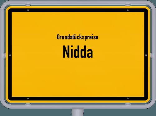 Grundstückspreise Nidda 2018