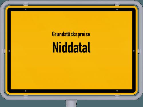 Grundstückspreise Niddatal 2019