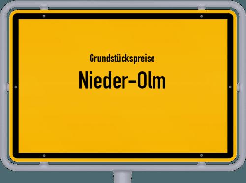 Grundstückspreise Nieder-Olm 2019