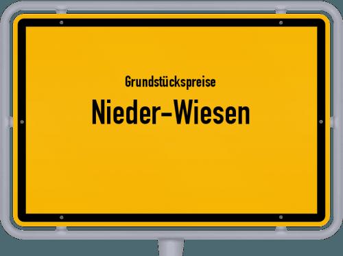 Grundstückspreise Nieder-Wiesen 2019