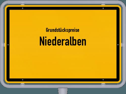 Grundstückspreise Niederalben 2019