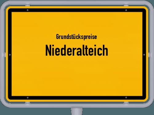 Grundstückspreise Niederalteich 2019