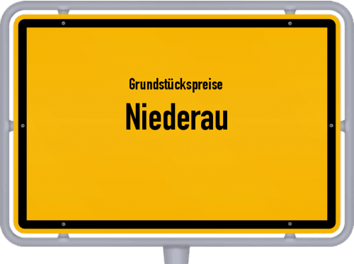 Grundstückspreise Niederau 2019