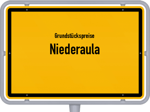 Grundstückspreise Niederaula 2020