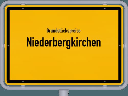 Grundstückspreise Niederbergkirchen 2021
