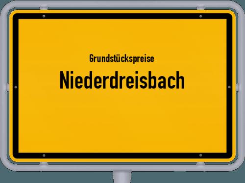 Grundstückspreise Niederdreisbach 2019