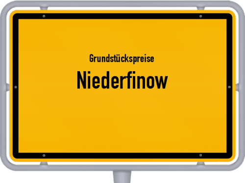 Grundstückspreise Niederfinow 2021