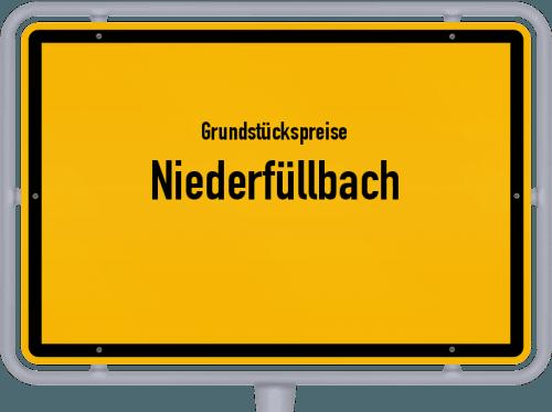 Grundstückspreise Niederfüllbach 2019