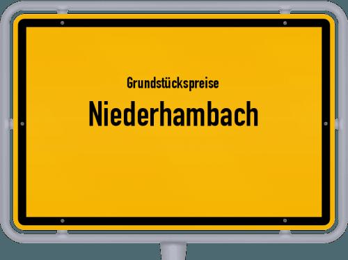 Grundstückspreise Niederhambach 2019