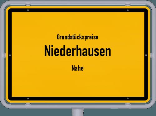Grundstückspreise Niederhausen (Nahe) 2019