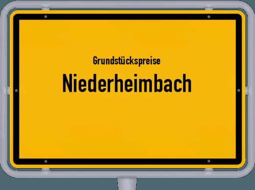 Grundstückspreise Niederheimbach 2019