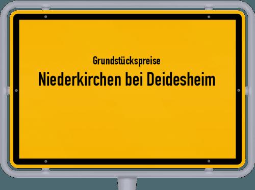 Grundstückspreise Niederkirchen bei Deidesheim 2019