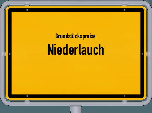 Grundstückspreise Niederlauch 2019