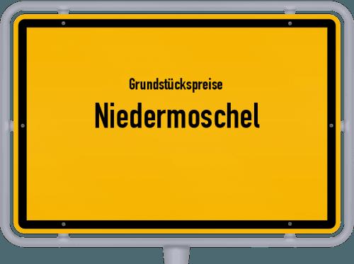 Grundstückspreise Niedermoschel 2019