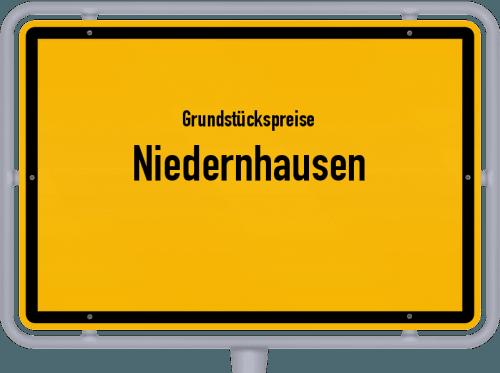 Grundstückspreise Niedernhausen 2019