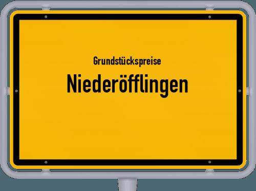Grundstückspreise Niederöfflingen 2019