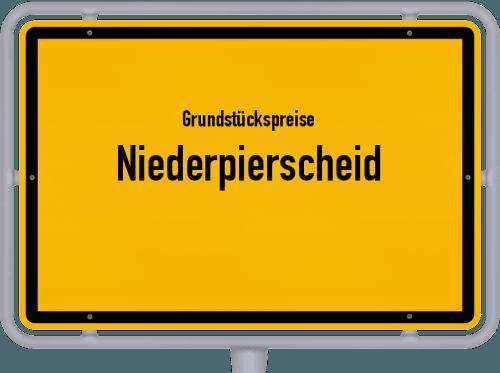 Grundstückspreise Niederpierscheid 2019