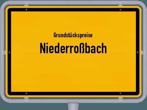 Grundstückspreise Niederroßbach 2019