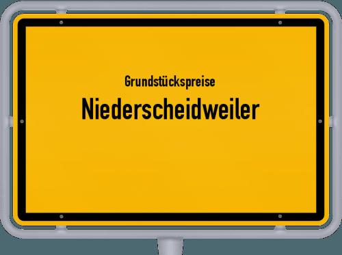 Grundstückspreise Niederscheidweiler 2019