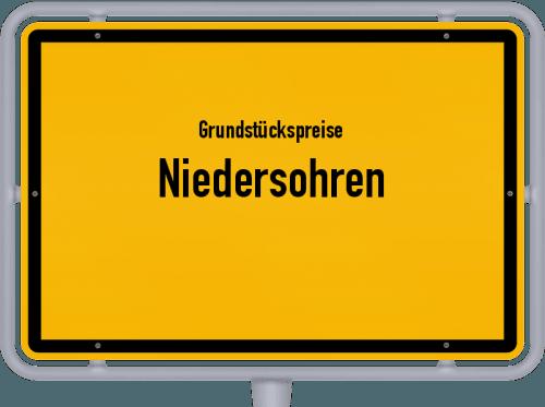 Grundstückspreise Niedersohren 2019