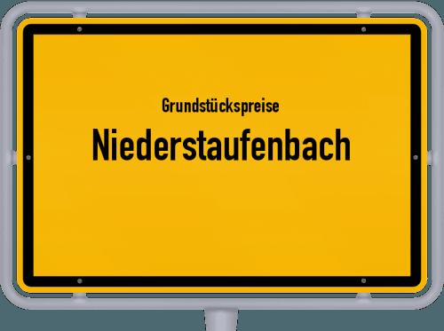 Grundstückspreise Niederstaufenbach 2019
