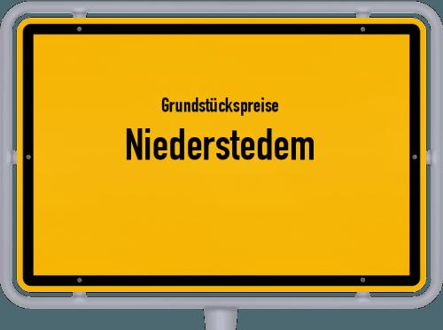 Grundstückspreise Niederstedem 2019