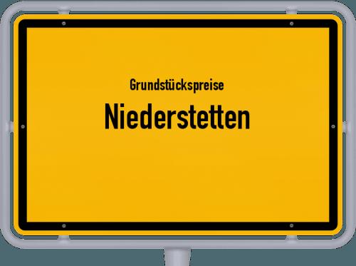Grundstückspreise Niederstetten 2021