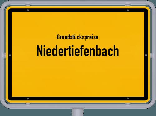 Grundstückspreise Niedertiefenbach 2019