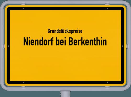 Grundstückspreise Niendorf bei Berkenthin 2021