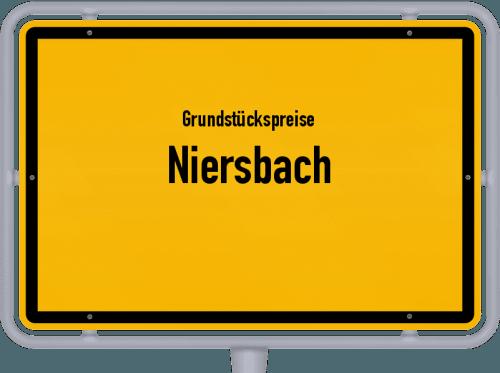 Grundstückspreise Niersbach 2019