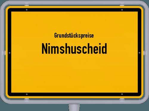 Grundstückspreise Nimshuscheid 2019
