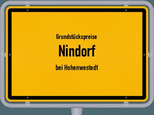 Grundstückspreise Nindorf (bei Hohenwestedt) 2021