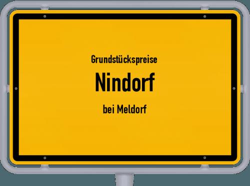 Grundstückspreise Nindorf (bei Meldorf) 2021