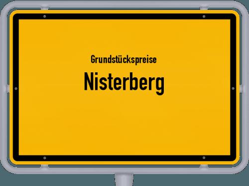 Grundstückspreise Nisterberg 2019