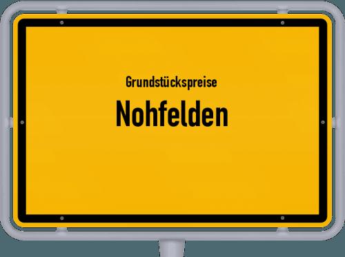 Grundstückspreise Nohfelden 2021