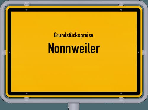 Grundstückspreise Nonnweiler 2021