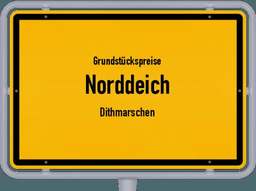 Grundstückspreise Norddeich (Dithmarschen) 2021