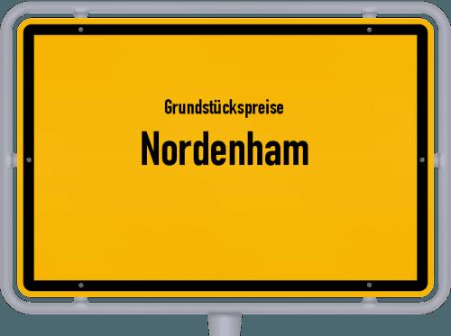Grundstückspreise Nordenham 2019