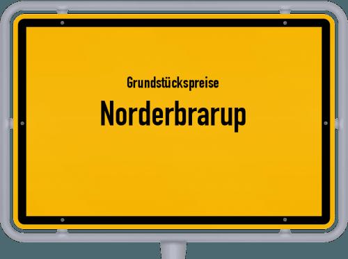 Grundstückspreise Norderbrarup 2021