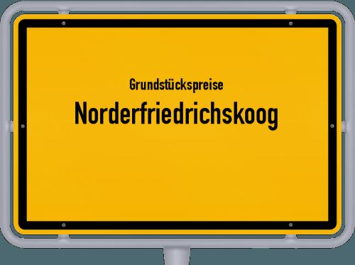 Grundstückspreise Norderfriedrichskoog 2021