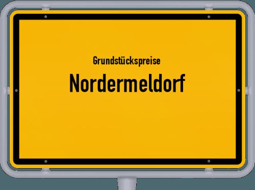 Grundstückspreise Nordermeldorf 2021