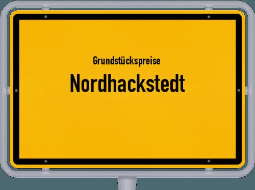 Grundstückspreise Nordhackstedt 2021