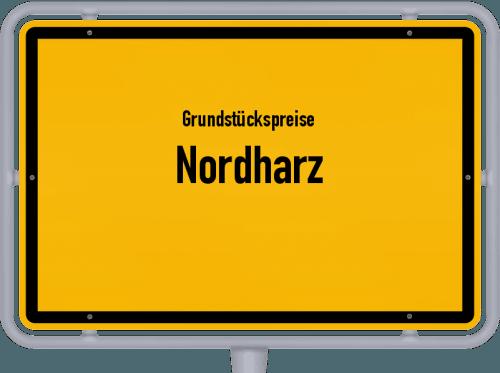 Grundstückspreise Nordharz 2021