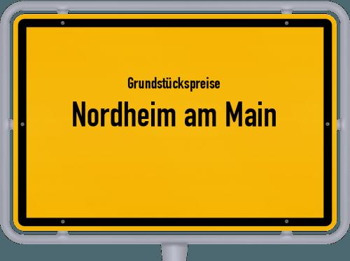 Grundstückspreise Nordheim am Main 2019