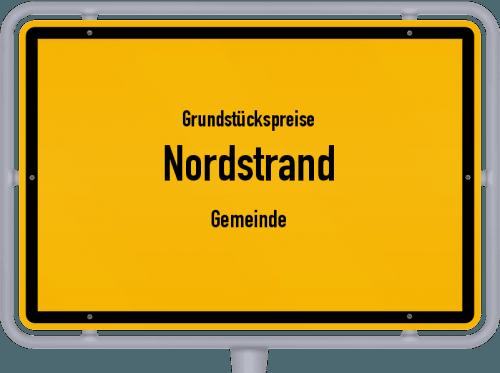 Grundstückspreise Nordstrand (Gemeinde) 2021